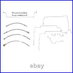 00-05 Chevrolet Cavalier Fuel Line Kit Stainless Steel