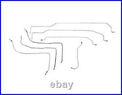 02-03 GMC Sierra 2500 Fuel Line Kit Stainless Steel