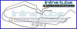 04-06 Pontiac GTO Metal Main Return Vapor Fuel Gas Lines Kit Set Tubes OE 2pc
