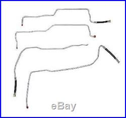 04-07 Chevy Silverado/Sierra Non-Flex Fuel Line, 3/8 Reg Cab-Stainless
