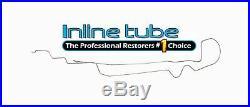 1969 Chevrolet Camaro Main Fuel Gas Line Tube Kit Tank To Pump 1pc 3/8 OE Steel