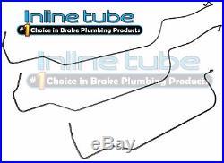 1993-97 Camaro Firebird Fuel Return Vapor Lines LT1 350 Set 3pc Line Kit Tube SS