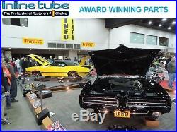 1995-1999 Chevrolet Cavalier Main Return Vapor Fuel Lines Preformed 3pc OE Steel