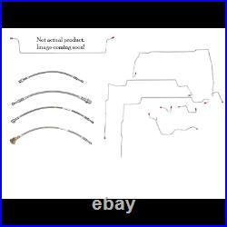 1998-01 GM Blazer, Jimmy, 4-Door Complete Fuel Line Kit TGL9802OM