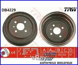 2 St. Original TRW DB4229 TRW Bremstrommel