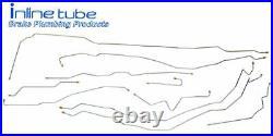 2001-02 Silverado Sierra Ext Short 2500HD 3500 Complete Brake Line Kit Set SS