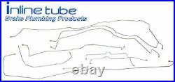 2003-06 Tahoe Yukon Escalade SUV Complete Hydraulic Brake Line Kit Set Stainless