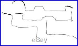 2004-2007 Chevy Silverado Fuel Line Kit Stainless Steel