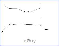2005-2010 Chevy Cobalt Complete Fuel Line Kit. Steel