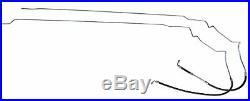 2006-07 Chevrolet Monte Carlo Main & Vapor Fuel Gas Line Kit Set 2pc wHose OE