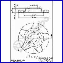 2x BREMBO Brake Disc BREMBO MAX LINE 09.5802.76