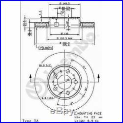 2x BREMBO Brake Disc BREMBO MAX LINE 09.8633.75