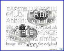 2x Delphi Bremsscheibe Voll Ø 279.5mm Hinten Für 43206-mb600