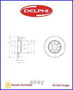 2x Die Bremsscheibe Für Vauxhall Opel Corsa Mk II C X01 Z 10 Xep Z 12 Xep Delphi