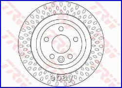 2x Die Bremsscheibe Für Volvo S80 II 124 B 6324 S B 6304 T2 D 5244 T4 B 5254 T6