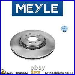 2x Die Bremsscheibe Für Volvo V70 II 285 D 5244 T4 B 5234 T7 D 5244 T5 D 5244 T2