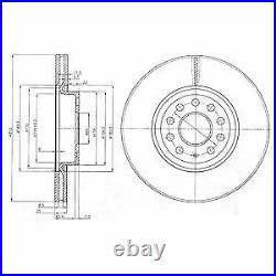 2x Die Bremsscheibe Für Vw Skoda Audi Seat Mazda Changan Jetta IV 162 163 Bse