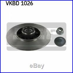 2x SKF Brake Disc VKBD 1026