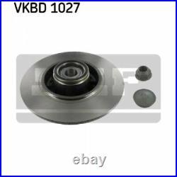 2x SKF Brake Disc VKBD 1027