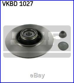 2x SKF Bremsscheibe Bremsscheiben Satz Bremsen Hinten VKBD 1027