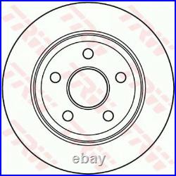 2x TRW Brake Disc DF4914S