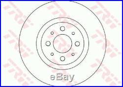 2x TRW Bremsscheibe Bremsscheiben Satz Bremsen Vorne DF4377