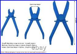 3pcs Flexible Hose Clamps Kit Line Brake Fuel Water Line Clamp Pliers CA SHIP