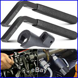 3pcs/set W47058090900 Fuel Line Socket Engine Brake Adjustment Tools 4.6MM 4.1MM