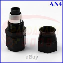 4# Teflon Ptfe Hose End Kit An4 -4 4an Oil Fuel Gas Brake Line Adapter Fitting B