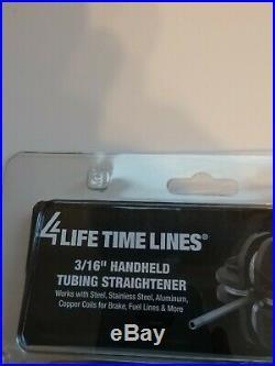 4LIFETIMELINES 3/16 Handheld Tubing Straightener for Brake & Fuel Line Tube New