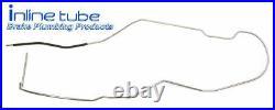 64-65-66-67 chevelle hardtop main fuel line 3/8 OEM SS OE STEEL
