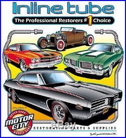 71-72 Chevelle Ht Brake Line Set & Main + Return Fuel Lines P-disc Brakes Ss