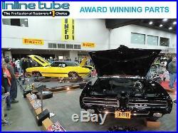 74-82 Chevrolet Corvette POWER Disc Brake Line Kit AND Flex Hose Set OEM Steel