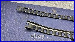 86.5-92 Supra PLASTIC FUEL BRAKE LINE PROTECTOR SET underside shield OEM Mk3