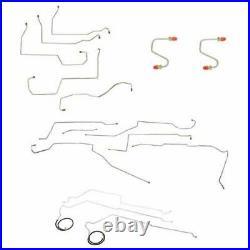 96-99 Buick Lesabre Brake & Fuel line Kit No Traction Control CBF0010OM