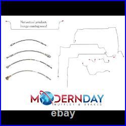 98-00 Chevrolet S10 Fuel Line Kit Reg Cab/Short Bed 4.3L Stainless Steel