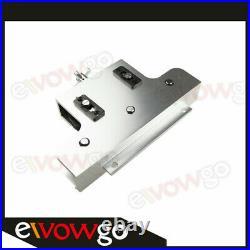 Aluminum Metal Coiled Brake & Fuel Line Tubing Tube Straight Straightener Silver