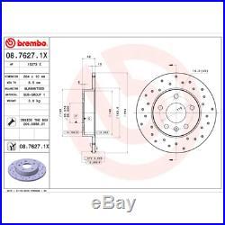 Bremsscheibe (2 Stück) BREMBO XTRA LINE Brembo 08.7627.1X