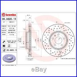 Bremsscheibe (2 Stück) BREMBO XTRA LINE Brembo 09. A820.1X