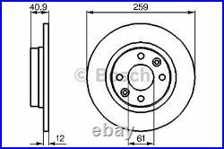 Bremsscheibe (2 Stück) Bosch 0 986 479 B79
