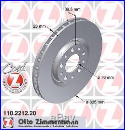 Bremsscheibe (2 Stück) COAT Z Zimmermann 110.2212.20