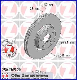 Bremsscheibe (2 Stück) COAT Z Zimmermann 250.1365.20