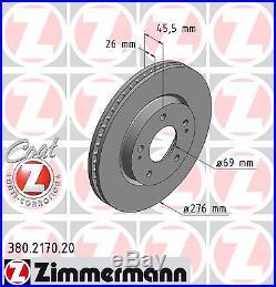 Bremsscheibe (2 Stück) COAT Z Zimmermann 380.2170.20