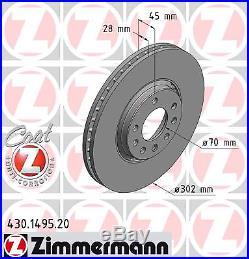 Bremsscheibe (2 Stück) COAT Z Zimmermann 430.1495.20