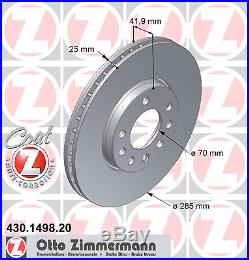 Bremsscheibe (2 Stück) COAT Z Zimmermann 430.1498.20