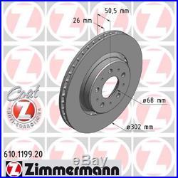 Bremsscheibe (2 Stück) COAT Z Zimmermann 610.1199.20