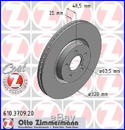 Bremsscheibe (2 Stück) COAT Z Zimmermann 610.3709.20