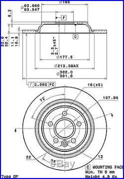 Bremsscheibe (2 Stück) COATED DISC LINE Brembo 08. A537.11