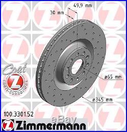 Bremsscheibe (2 Stück) SPORT-BREMSSCHEIBE COAT Z Zimmermann 100.3301.52