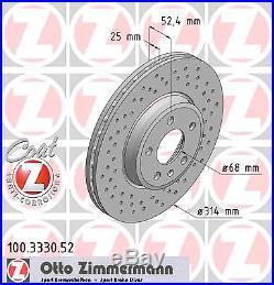 Bremsscheibe (2 Stück) SPORT-BREMSSCHEIBE COAT Z Zimmermann 100.3330.52
